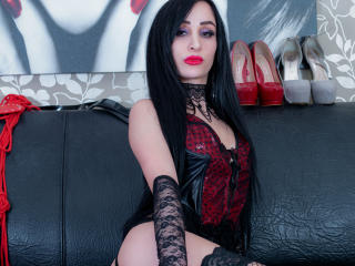 Picture of the sexy profile of AdelaSky, for a very hot webcam live show !