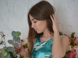Picture of the sexy profile of LiolaX, for a very hot webcam live show !